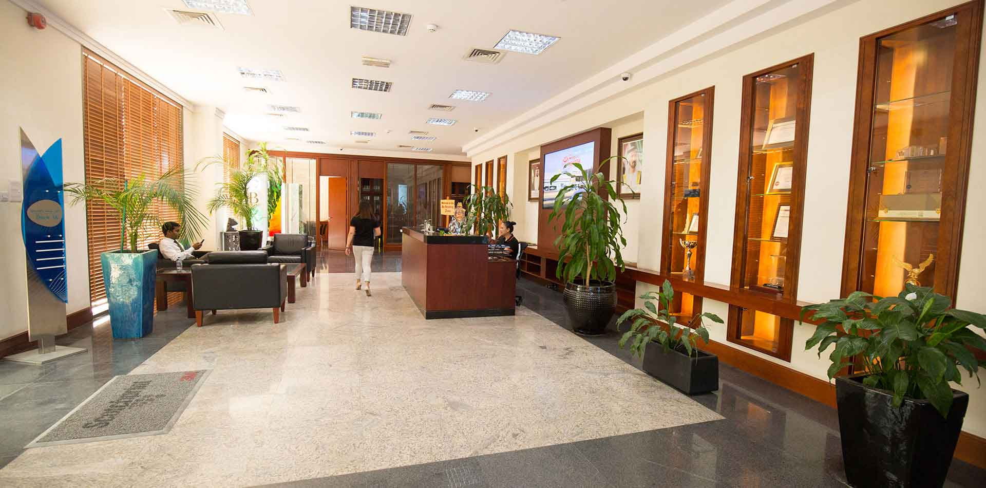 Lobby Area of Joseph Group