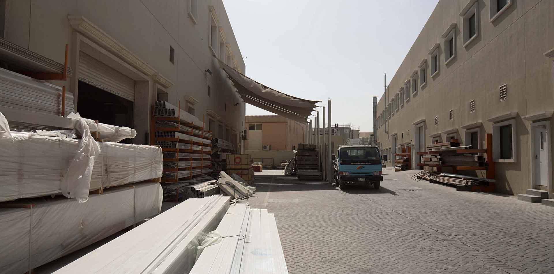 Warehouse of Joseph Group for Aluminium Gantry